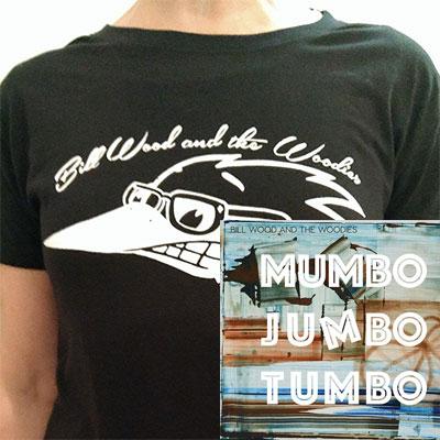 CD/Womens T-Shirt Combo